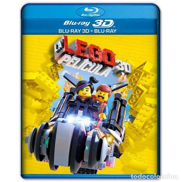 LA LEGO PELICULA BLURAY + 3D 2 DISCOS (Cine - Películas - Blu-Ray Disc)