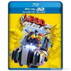 Cine: LA LEGO PELICULA BLURAY + 3D 2 DISCOS. Lote 207233295