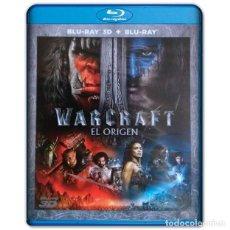 Cine: WARCRAFT EL ORIGEN BLURAY + 3D 2 DISCOS. Lote 207233432