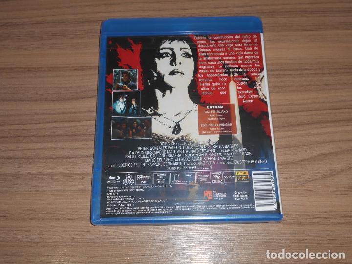 Cine: ROMA de Fellini La CAIDA del IMPERIO ROMANO 1931-1972 BLU-RAY DISC Nuevo PRECINTADO - Foto 2 - 207234771