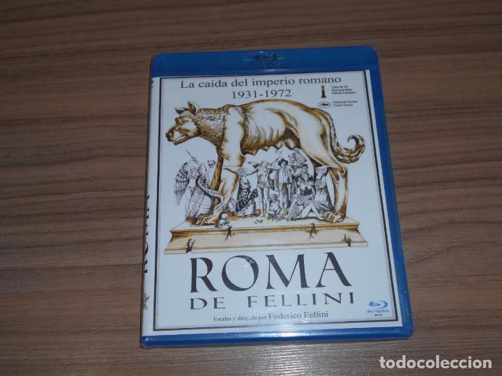 ROMA DE FELLINI LA CAIDA DEL IMPERIO ROMANO 1931-1972 BLU-RAY DISC NUEVO PRECINTADO (Cine - Películas - Blu-Ray Disc)