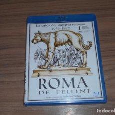 Cine: ROMA DE FELLINI LA CAIDA DEL IMPERIO ROMANO 1931-1972 BLU-RAY DISC NUEVO PRECINTADO. Lote 207234771