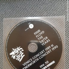 Cine: PINK FLOYD. THE LATER YEARS. VENICE CONCERT 1989 & KNEBWORTH CONCERT 1990. BLU-RAY Nº9. Lote 207249531