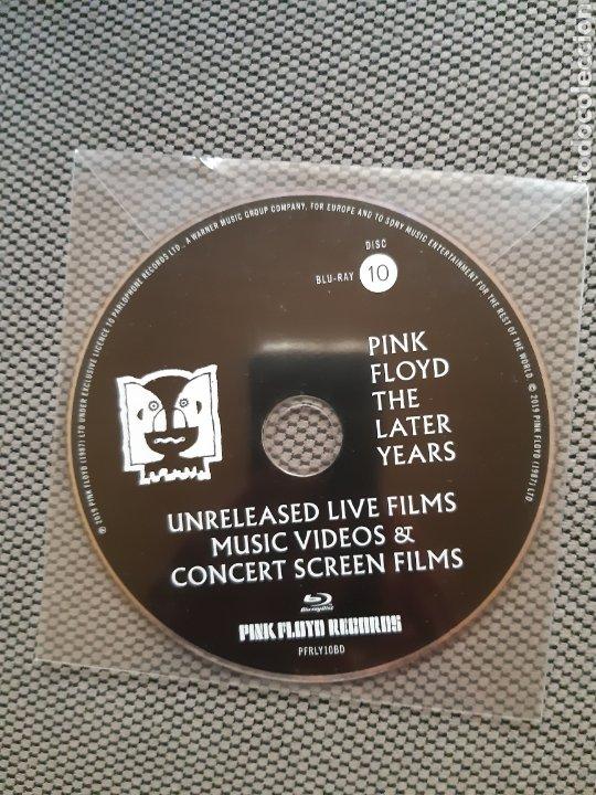 PINK FLOYD. THE LATER YEARS. UNRELEASED LIVE FILMS MUSIC VIDEOS & CONCERT SCREEN FILMS. BLU-RAY Nº10 (Cine - Películas - Blu-Ray Disc)