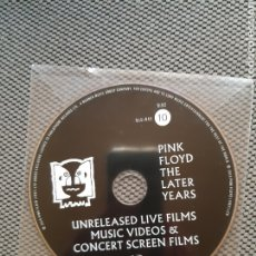 Cine: PINK FLOYD. THE LATER YEARS. UNRELEASED LIVE FILMS MUSIC VIDEOS & CONCERT SCREEN FILMS. BLU-RAY Nº10. Lote 207249557