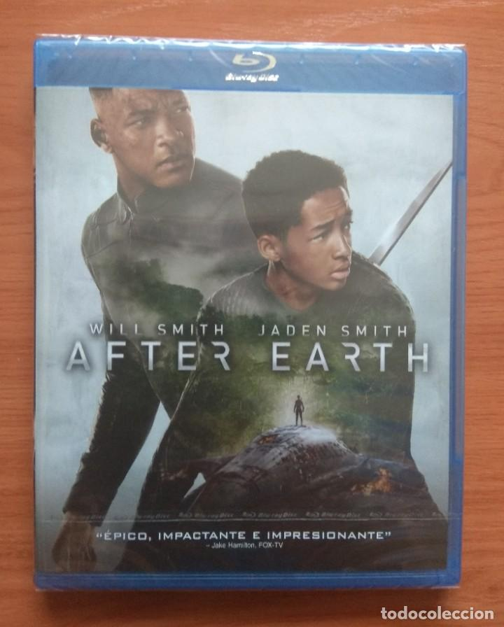 ENVIO INCLUIDO // BLU RAY AFTER EARTH (Cine - Películas - Blu-Ray Disc)