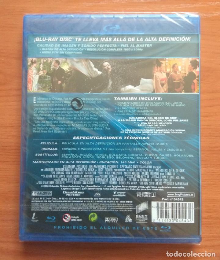 Cine: Envio incluido // Blu ray Memorias de una Geisha - Foto 2 - 207662095