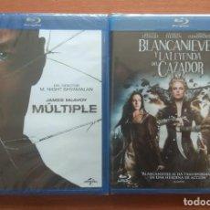 Cine: ENVIO INCLUIDO // LOTE BLU RAY: MULTIPLE Y BLANCANIEVES Y LA LEYENDA DEL CAZADOR. Lote 207840895