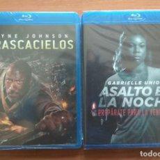 Cine: ENVIO INCLUIDO // LOTE BLU RAY: EL RASCACIELOS Y ASALTO EN LA NOCHE.. Lote 207841563