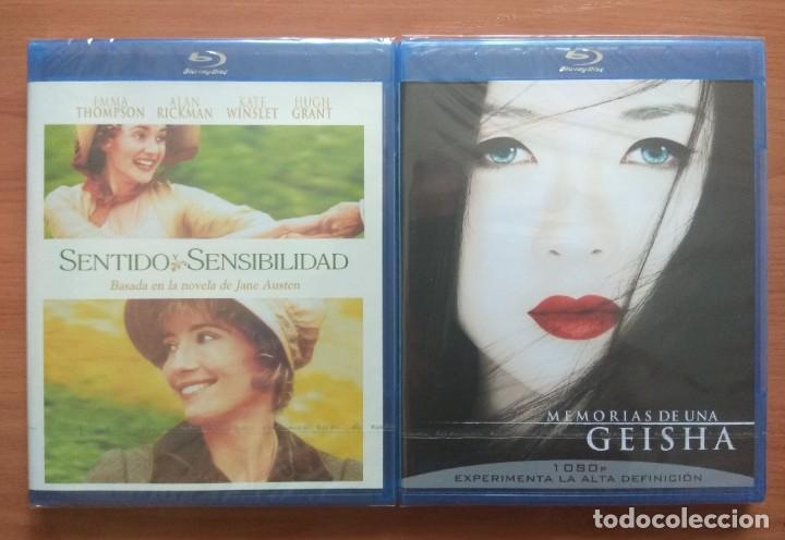 ENVIO INCLUIDO // LOTE BLU RAY: SENTIDO Y SENSIBILIDAD Y MEMORIAS DE UNA GEISHA (Cine - Películas - Blu-Ray Disc)