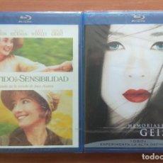 Cine: ENVIO INCLUIDO // LOTE BLU RAY: SENTIDO Y SENSIBILIDAD Y MEMORIAS DE UNA GEISHA. Lote 207841855