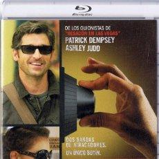 Cine: ATRACO POR DUPLICADO PATRICK DEMPSEY ( BLU - RAY). Lote 208580518