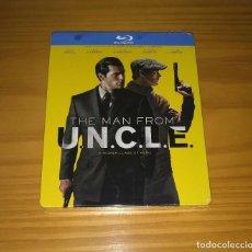 Cine: OPERACIÓN U.N.C.L.E. UNCLE STEELBOOK BLU-RAY NUEVO PRECINTADO. Lote 205758550