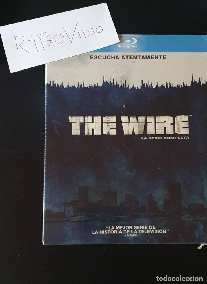 THE WIRE - PRECINTADA Y NUEVA - BLU-RAY (SERIE COMPLETA) (Cine - Películas - Blu-Ray Disc)