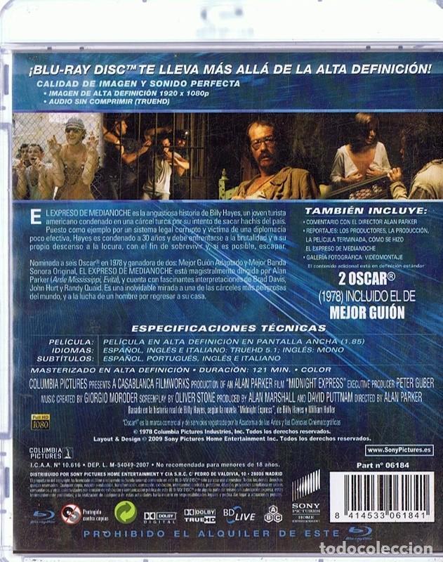 Cine: EL EXPRESO DE MEDIANOCHE EDICIÓN 30 ANIVERSARIO (BLU - RAY) - Foto 2 - 209161190