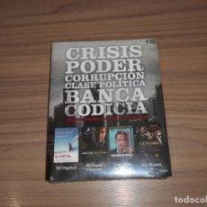 Cine: PACK 4 BLU-RAY DISC EL CAPITAL - MICHAEL CLAYTON - LA TRAMA - LOS IDUS DE MARZO NUEVOS PRECINTADOS. Lote 218471490