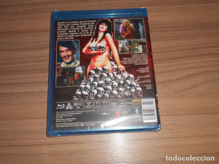 Cine: La CONDESA DRACULA BLU-RAY DISC Nuevo PRECINTADO - Foto 2 - 209925397