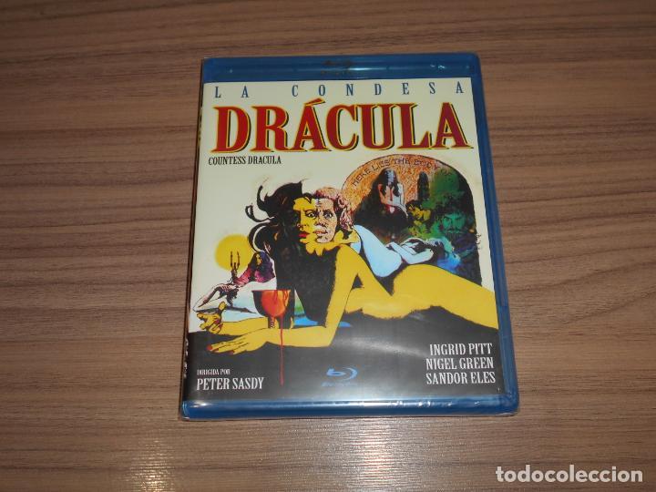 LA CONDESA DRACULA BLU-RAY DISC NUEVO PRECINTADO (Cine - Películas - Blu-Ray Disc)