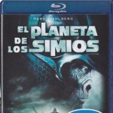 Cine: EL PLANETA DE LOS SIMIOS (2001) (BLU-RAY) (PLANET OF THE APES). Lote 210290271