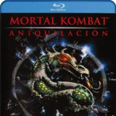 Cine: MORTAL KOMBAT 2 : ANIQUILACION (BLU-RAY) (MORTAL KOMBAT II). Lote 210291601