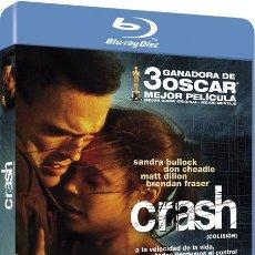 Cine: CRASH (COLISIÓN) (BLU-RAY). Lote 210293378