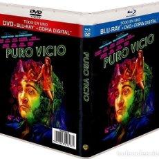 Cine: PURO VICIO (BLU-RAY + DVD + COPIA DIGITAL) (INHERENT VICE). Lote 210293413