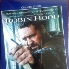 Cine: ROBIN HOOD BLU RAY +DVD. Lote 210424560