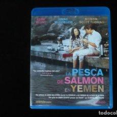 Cine: LA PESCA DEL SALMON EN YEMEN - BLURAY COMO NUEVO. Lote 210425055