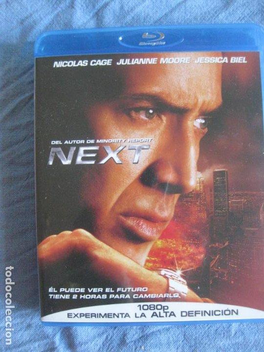NEXT. NICOLAS CAGE. BLU RAY DISC CON EXTRAS. (Cine - Películas - Blu-Ray Disc)