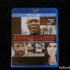 Cine: AMENAZADOS - CONTIENE SOLO EL BLURAY - BLURAY COMO NUEVO. Lote 210434316
