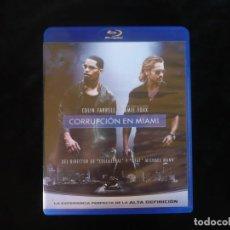 Cine: CORRUPCION EN MIAMI - BLURAY COMO NUEVO. Lote 210434435