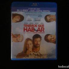 Cine: TENEMOS QUE HABLAR - CONTIENE BLURAY + DVD + COPIA DIGITAL - BLURAY COMO NUEVO. Lote 210434546