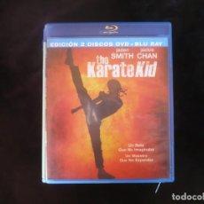 Cine: THE KARATE KID - CONTIENE BLURAY + DVD - BLURAY COMO NUEVO. Lote 210434680
