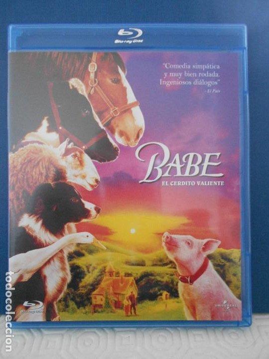 BABE. EL CERDITO VALIENTE. BLURAY DE LA PELICULA DE CHRIS NOOLAN. CON JAMES CROMWELL. COLOR. 91 MINU (Cine - Películas - Blu-Ray Disc)