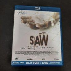 Cinéma: BRS14 SAW -BLURAY SEGUNDAMANO. Lote 210824757