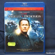 Cine: ANGELES Y DEMONIOS - BLU RAY. Lote 211404326