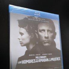 Cine: BLU-RAY MILLENNIUM: LOS HOMBRES QUE NO AMABAN A LAS MUJERES - DANIEL CRAIG - ROONEY MARA. Lote 211526991