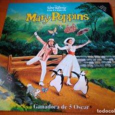 Cine: PELÍCULA MARY POPPINS EN LASER DISC.. Lote 211669768