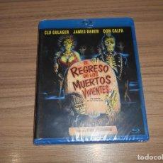 Cine: EL REGRESO DE LOS MUERTOS VIVIENTES BLU-RAY DISC TERROR NUEVO PRECINTADO. Lote 221875180