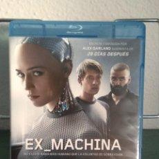 Cine: EX MACHINA EN BLU RAY // PROMOCIÓN EN LOS ENVÍOS. LEER DESCRIPCIÓN. Lote 154285730