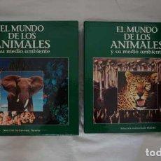 Cine: EL MUNDO DE LOS ANIMALES Y SU MEDIO AMBIENTE SELECCION AUDIOVISUAL PLANETA LASER DISC. Lote 213711575