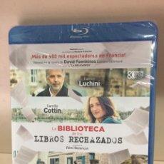 Cinéma: LA BIBLIOTECA DE LOS LIBROS RECHAZADOS BLURAY - PRECINTADO -. Lote 213724225