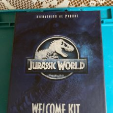 Cine: JURÁSSIC WORLD BLURAY EDICIÓN WELCOME KIT. Lote 214027681