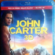 Cine: JOHN CARTER BLU RAY +3D. Lote 214766541