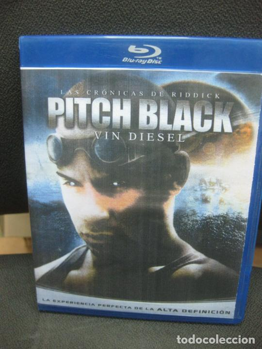 LAS CRONICAS DE RIDDICK. PITCH BLACK. VIN DIESEL. BLU-RAY DISC. MATERIAL ADICIONAL. (Cine - Películas - Blu-Ray Disc)