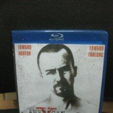 Cine: AMERICAN HISTORY X. BLU-RAY DISC. CONTENIDO ADICIONAL.. Lote 217203636