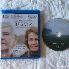 Cine: 45 AÑOS BLURAY.. Lote 217363995