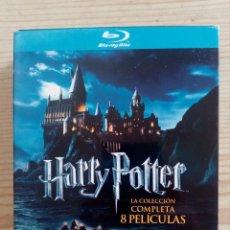 Cine: HARRY POTTER - LA COLECCION COMPLETA 8 PELICULAS - BLU-RAY. Lote 218275667