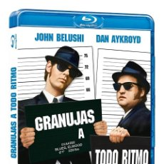 Cine: THE BLUES BROTHERS -GRANUJAS A TODO RITMO [BLU-RAY] JOHN BELUSHI (ACTOR), DAN AYKROYD (ACTOR). Lote 218419451