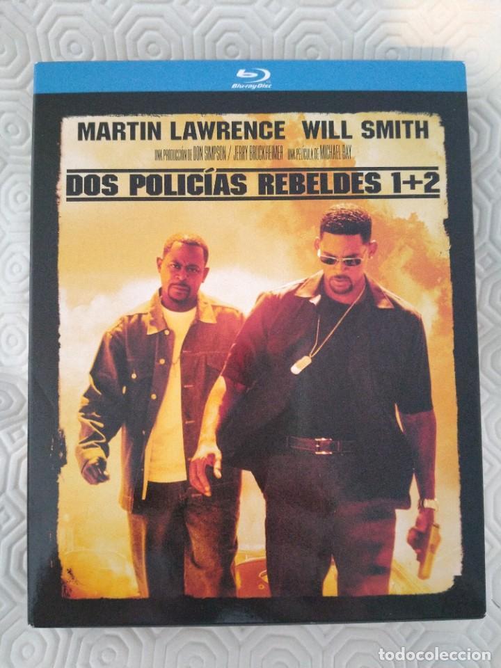 DOS POLICIAS REBELDES 1 + 2. ESTUCHE CON 2 BLURAY CON LAS DOS PELICULAS. CON MARTIN LAWRENCE Y WILL (Cine - Películas - Blu-Ray Disc)